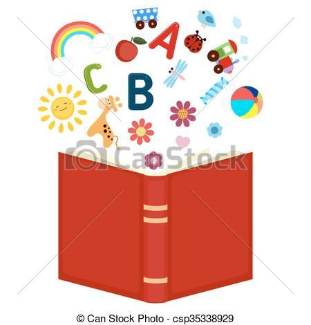 Imagination clipart open book Book Open icons csp35338929 Open