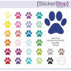 Imagination clipart rainbow colour Print Colors Clipart Rainbow Instant