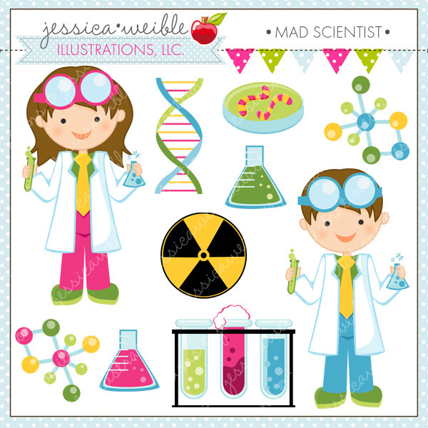 Woman clipart mad scientist #12