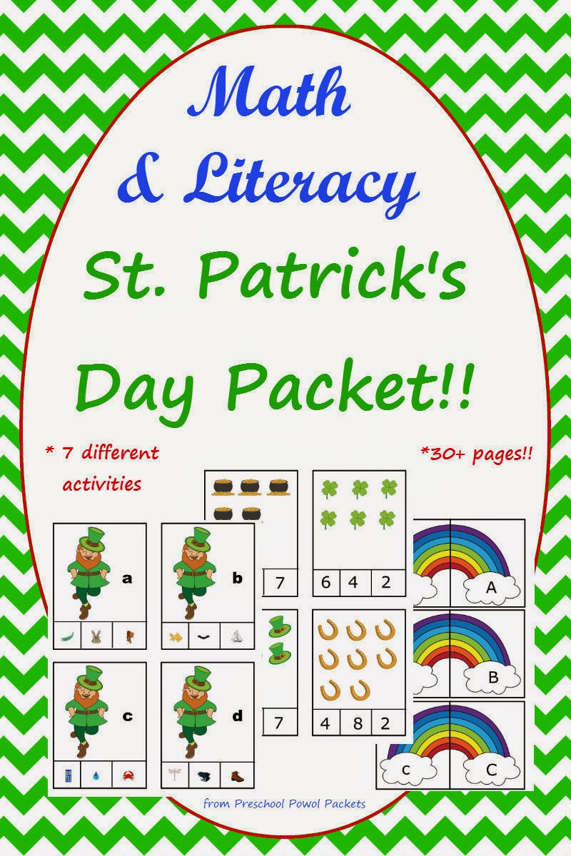 Imagination clipart st patricks day Day Packet Patrick Activities St
