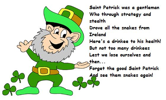 Imagination clipart st patty St Patrick's Quotes and Patrick's