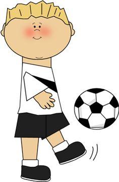 Little Boy clipart kid football Image Soccer Pinterest Clip Soccer