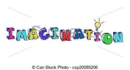 Word clipart imagination Panda word colorful Imagination Clipart