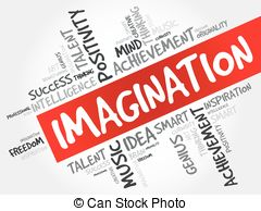 Imagination clipart the word Of word  cloud bulb