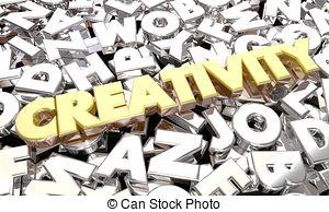 Imagination clipart the word Creative Imagination Words Illustration