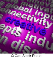 Imagination clipart the word Creative Word Words Imagination