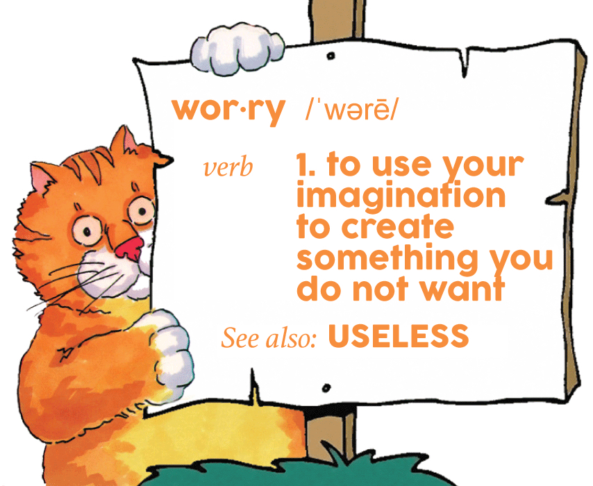 Imagination clipart worried student Happy! Chester imagination something worry—be