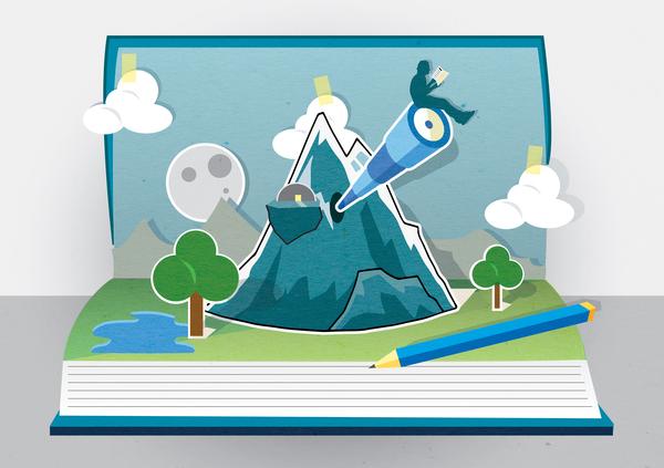 Imagination clipart writer Writing: A : world imagination