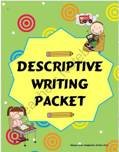 Imagination clipart writer Descriptive Descriptive from Imagination (10