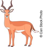 Impala clipart Smiling 261 royalty of image