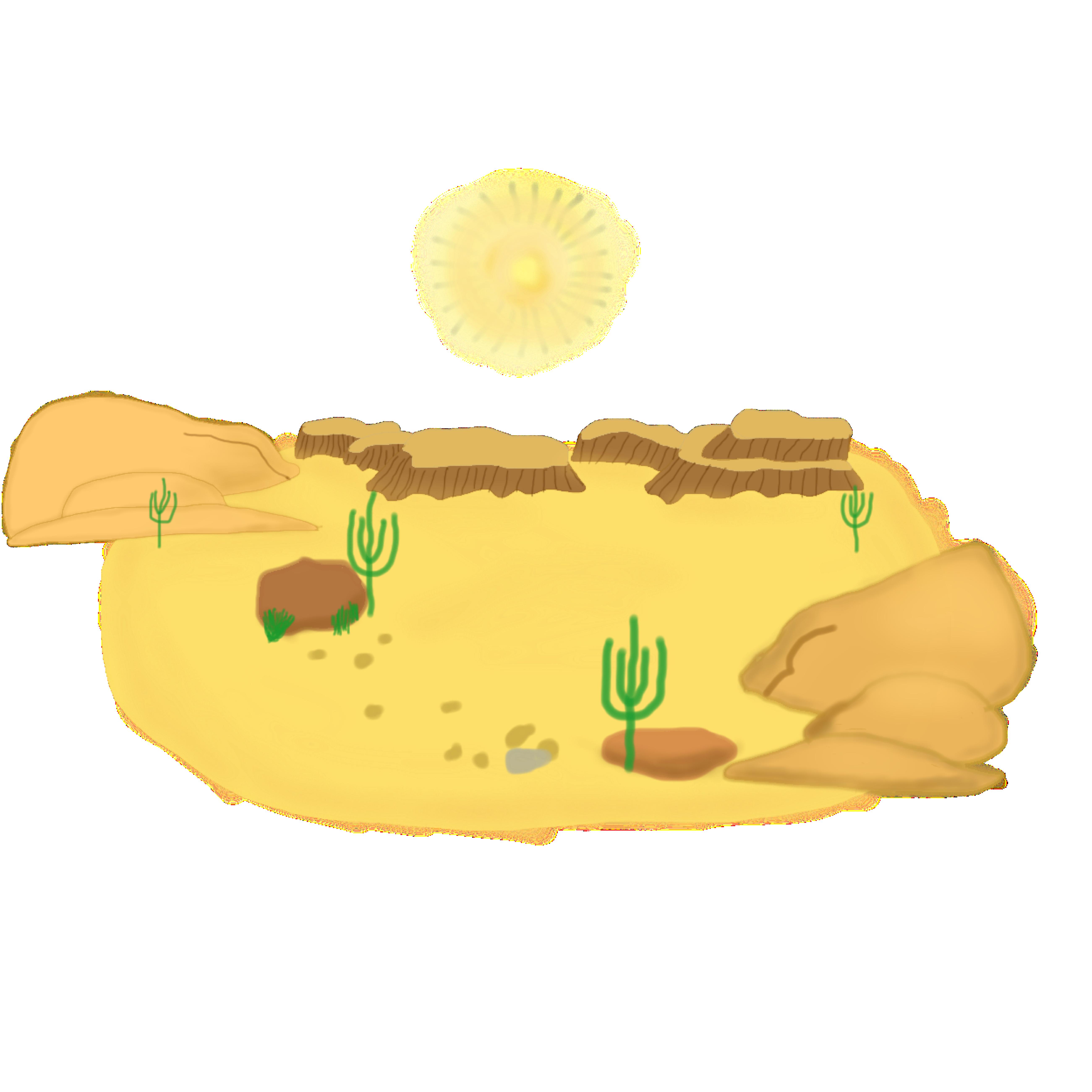 In The Desert clipart Cliparts Art Clip Desert Clipart