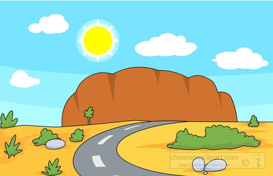 In The Desert clipart Desert in – Rocks Art