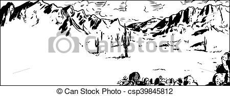 In The Desert clipart arizona Csp39845812 with  Arizona Clipart
