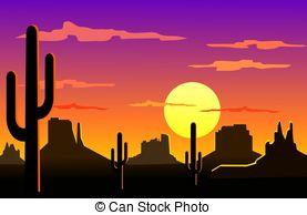 In The Desert clipart arizona Desert free landscape Illustrations 33