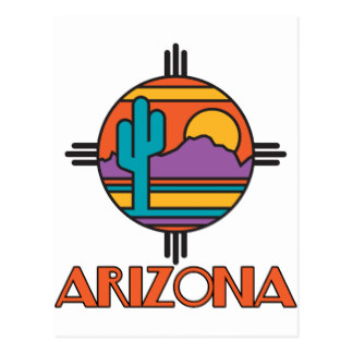 In The Desert clipart arizona On Postcard Zazzle Arizona Gifts