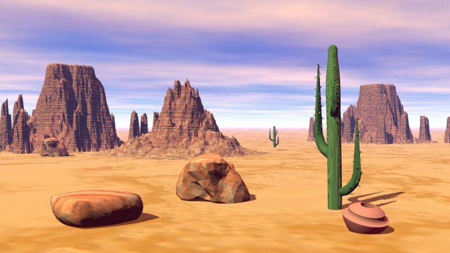 In The Desert clipart arizona 2 2 art Arizona art