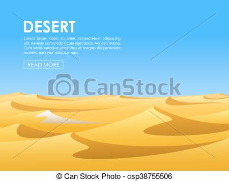 In The Desert clipart beach Sky vector Warm with