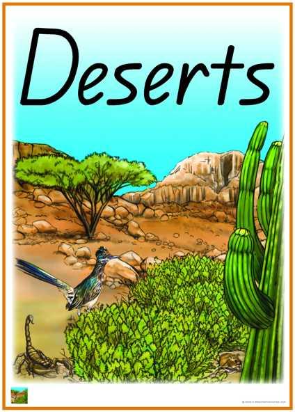 In The Desert clipart biome Desert Download Art Words Clip
