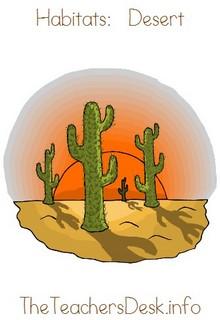 In The Desert clipart biome Click Desert – TheTeachersDesk info