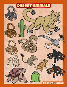 In The Desert clipart biome Desert Great : art projects