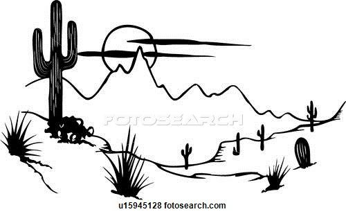 In The Desert clipart black and white Panda Clipart And White Free