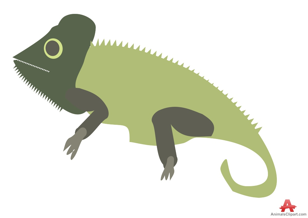 In The Desert clipart cameleon Chameleon Design Clipart Chameleon Clipart