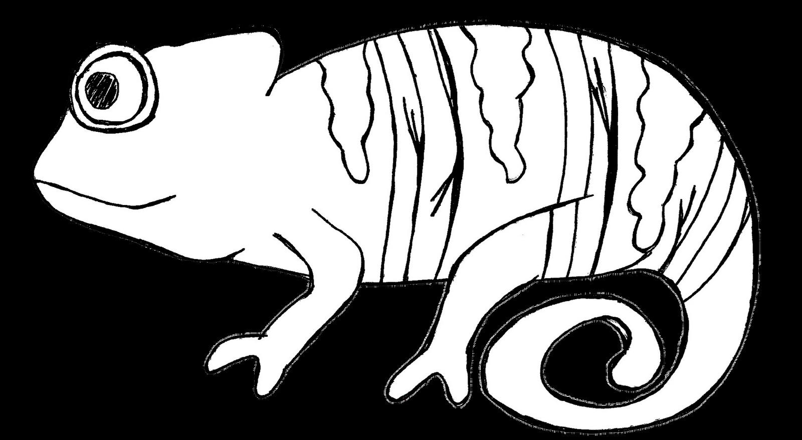 In The Desert clipart cameleon Chameleon art clip art #70