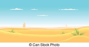 In The Desert clipart cartoon Desert of  Deep Cartoon