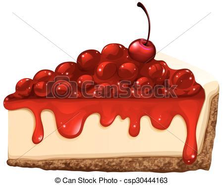 Cheesecake clipart cartoon Cherry Illustrations 248 1 Cheesecake