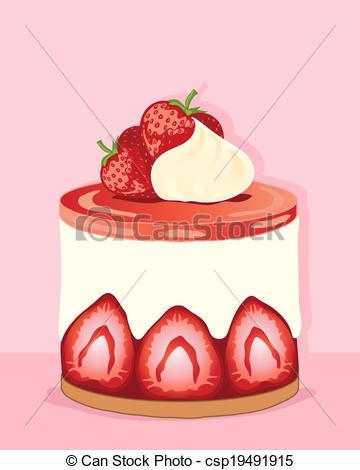 Tart clipart An art Illustrations Cheesecake Clipart