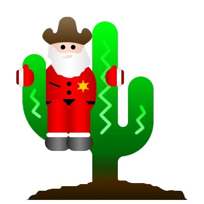 Western clipart santa Clipart holiday Free Clipart Clipart