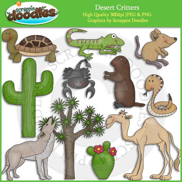 In The Desert clipart cute Critters Clip Desert Desert Art