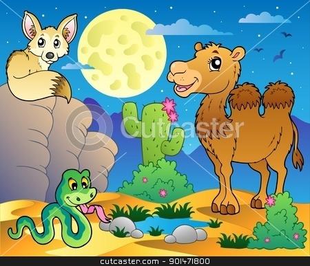 In The Desert clipart desert animal With stock with animals Desert
