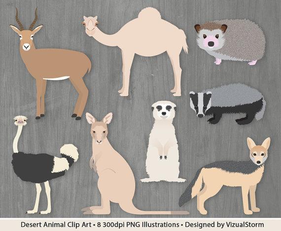 In The Desert clipart desert animal Clipart Animal Wild Meerkat Clipart