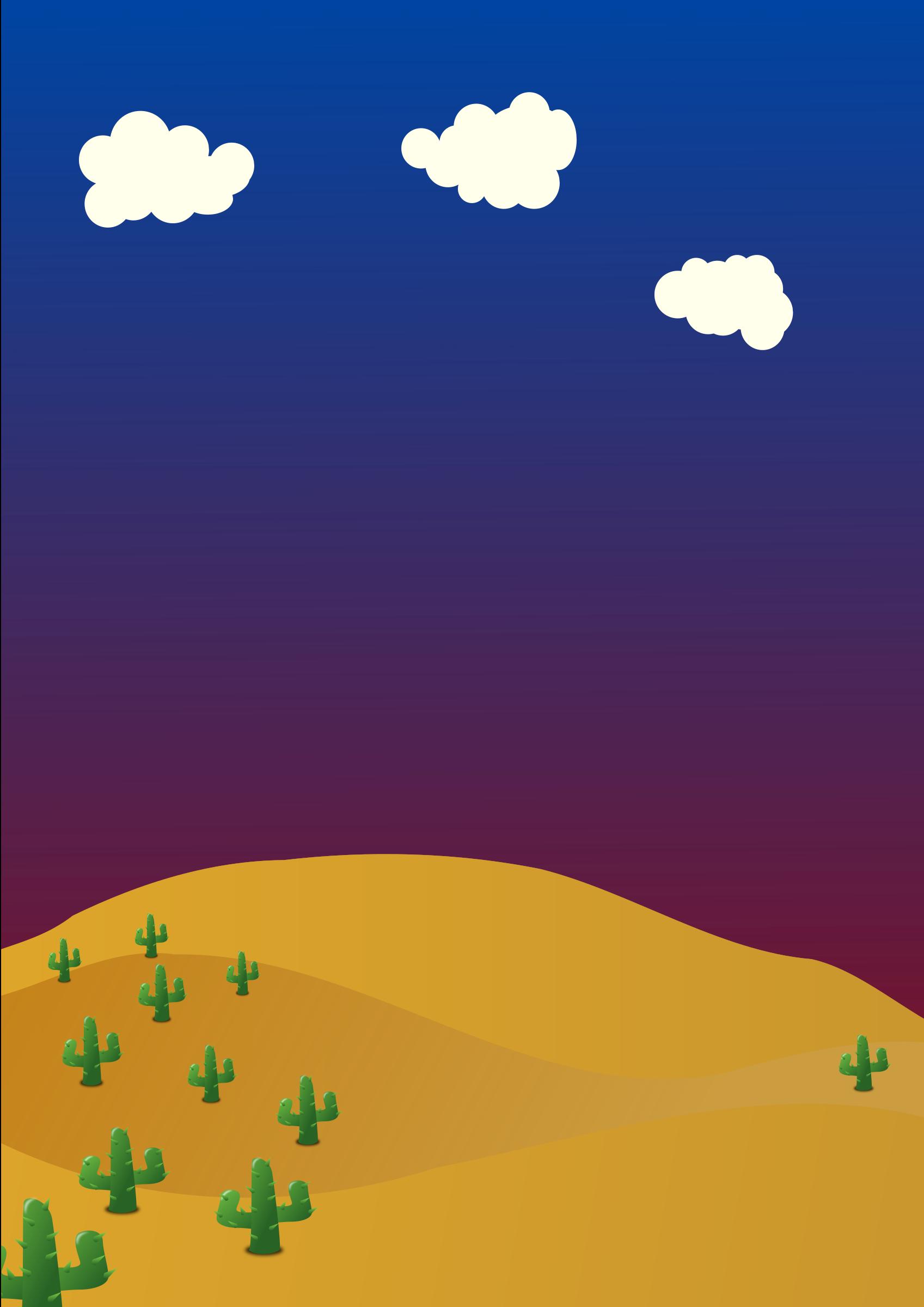 In The Desert clipart desert background Clipart background Desert background Desert