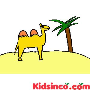 In The Desert clipart desert camel Panda Wild Desert Free Art