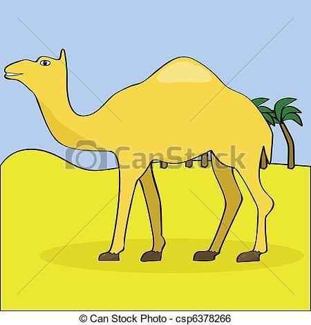 In The Desert clipart desert camel Art images The Clip in