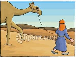 In The Desert clipart desert camel In the Picture Leading the