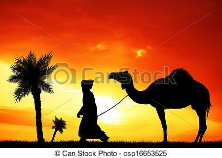 In The Desert clipart desert caravan Clipart free Bedouin Sahara 4