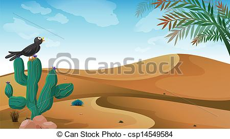 In The Desert clipart desert ecosystem At the the above the