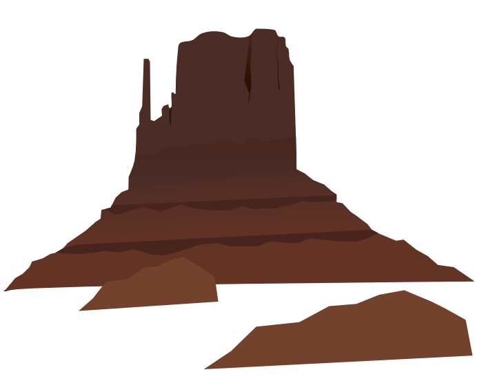 Peak clipart desert mountain Desert clipart clipart ClipartBarn mountain