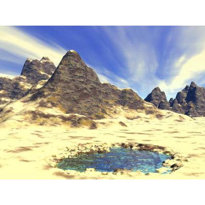 In The Desert clipart desert mountain Royalty clip illustrations desert Free