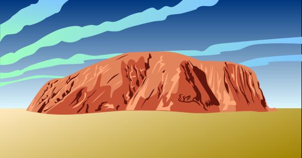 In The Desert clipart desert mountain – in Clipart Art the