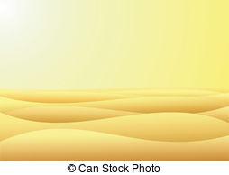 In The Desert clipart desert sand And barren Illustrations Warm 696