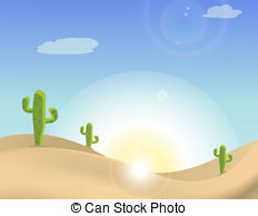 In The Desert clipart desert scene 696 the Illustrations Desert desert