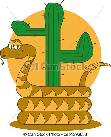 In The Desert clipart desert snake Rattle Desert Snake Clip Vectors