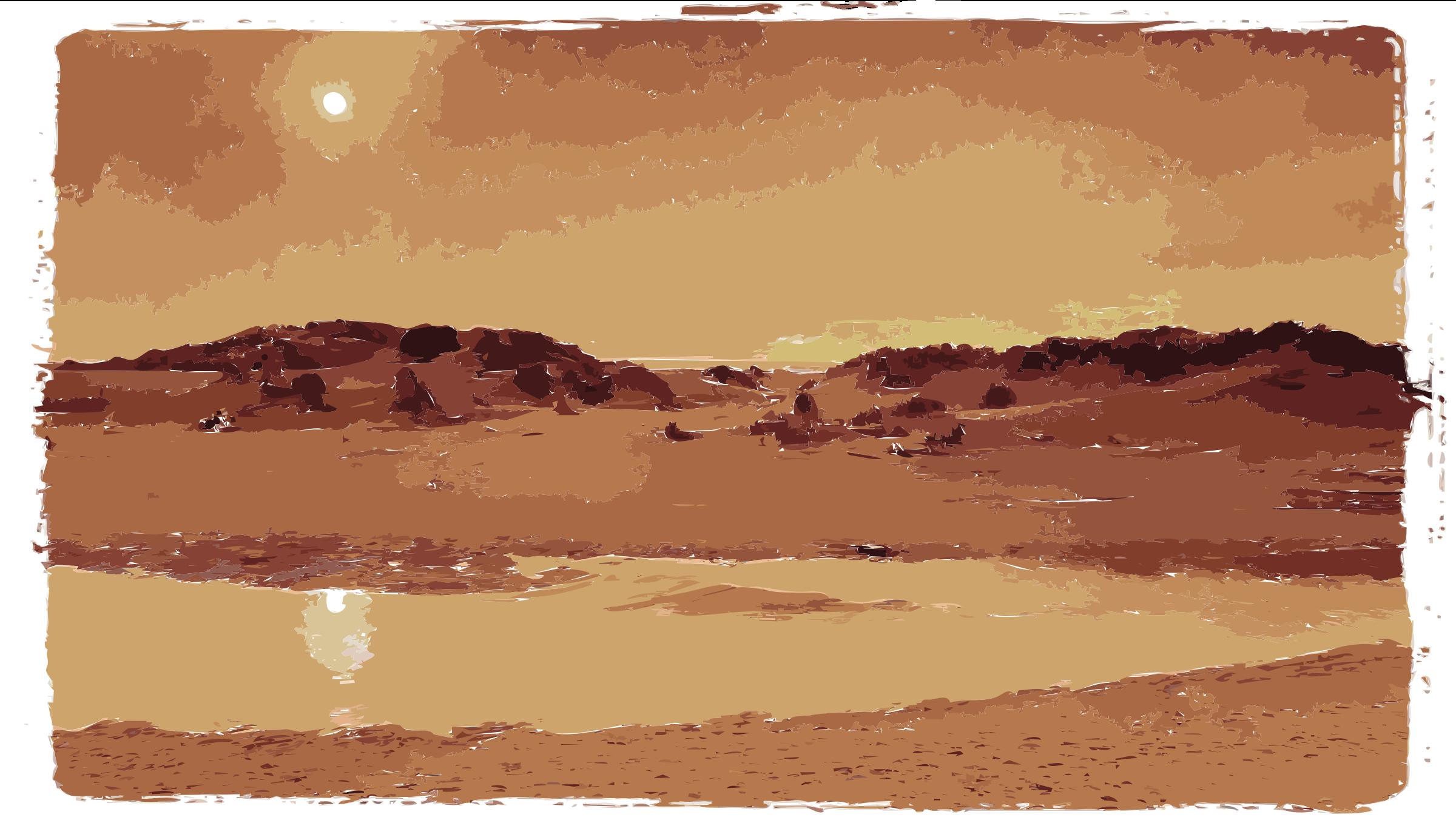 In The Desert clipart desert sunset Sunset Desert Take Two Desert