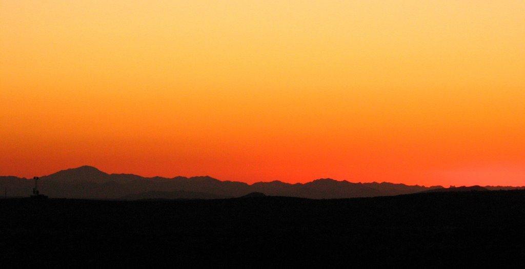 In The Desert clipart desert sunset Sunset Desert Panoramio Desert sunset