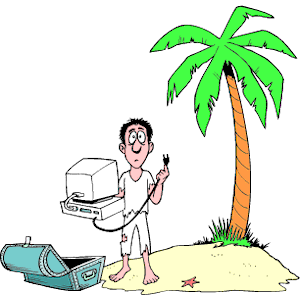 In The Desert clipart deserted island Of free emf Island formats