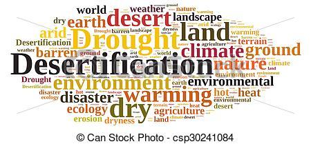 In The Desert clipart desertification Of Stock csp30241084  Desertification